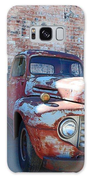 A Truck In Goodland Galaxy Case by Lynn Sprowl