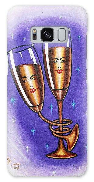 A Twist Of Romance... Galaxy Case by Ragunath Venkatraman
