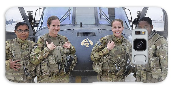 Galaxy Case featuring the photograph A U.s. Army All Female Crew by Stocktrek Images
