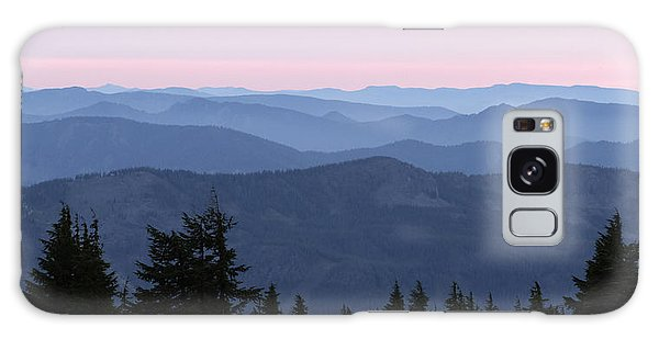 A View From Timberline Galaxy Case