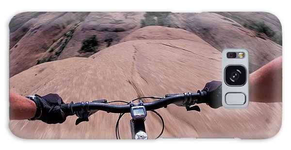 It Professional Galaxy Case - A View Of A Female Mountain Bikers by Corey Rich