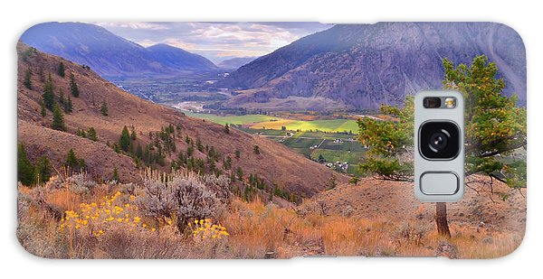 Desert View Tower Galaxy Case - A View Of Keremeos by Tara Turner