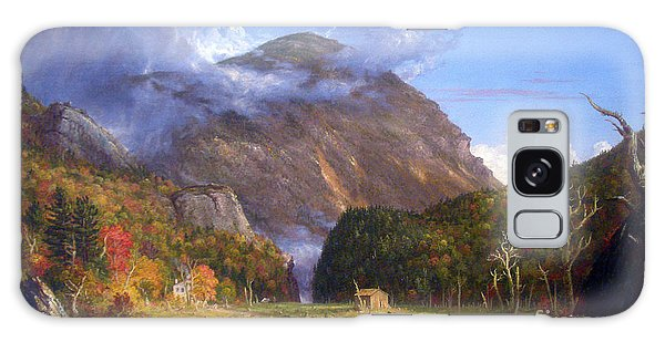 A View Of The Mountain Pass Called The Notch Of The White Mountans By Thomas Cole Galaxy Case