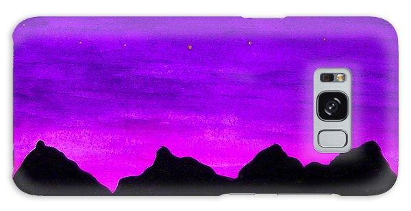 A Violet Dream Galaxy Case
