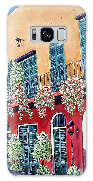 A Visit To New Orleans Galaxy Case by Suzanne Theis