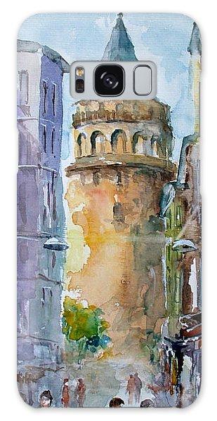 A Walk Around Galata Tower - Istanbul Galaxy Case by Faruk Koksal