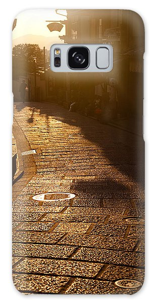 Galaxy Case featuring the photograph A Walk In Kyoto by Brad Brizek