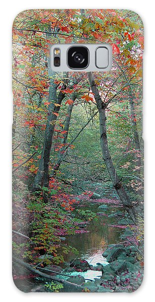 A Walk In The Park - Nature Photography  Galaxy Case