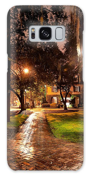A Walk In The Park Galaxy Case