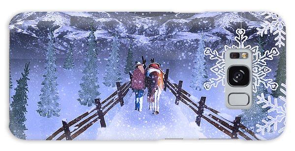 A Walk In The Snow 2 Galaxy Case