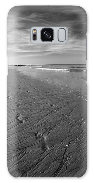Galaxy Case featuring the photograph A Walk On The Beach by Brad Brizek