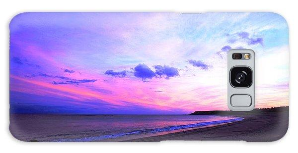 A Walk On The Beach Galaxy Case by Jason Lees