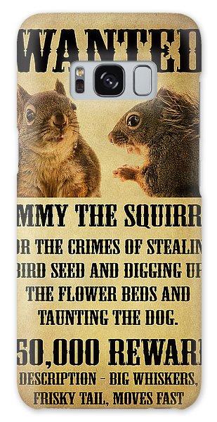 A Wanted Squirrel Galaxy Case