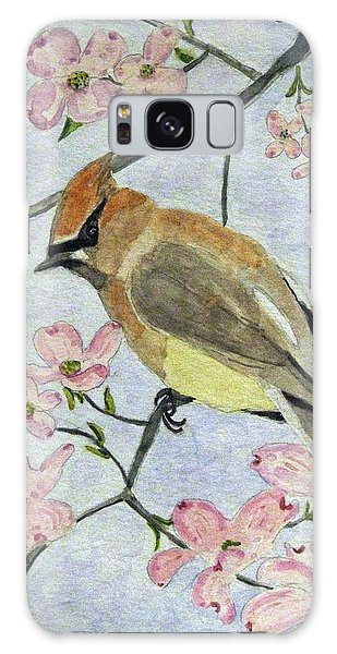 A Waxwing In The Dogwood Galaxy Case