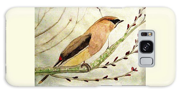 A Waxwing In The Orchard Galaxy Case