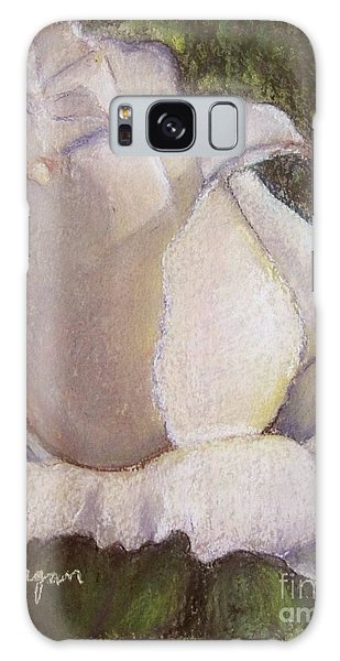 A Whiter Shade Of Pale Galaxy Case by Laurie Morgan