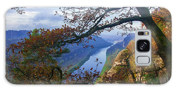 A Window To The Elbe In The Saxon Switzerland Galaxy Case