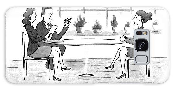 A Woman Interviews For A Job Galaxy Case