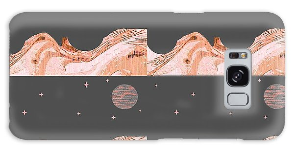 A World Untouched Galaxy Case by Ann Calvo