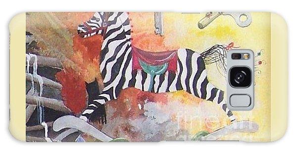 A Zebra For Charlie Galaxy Case by Jackie Mueller-Jones