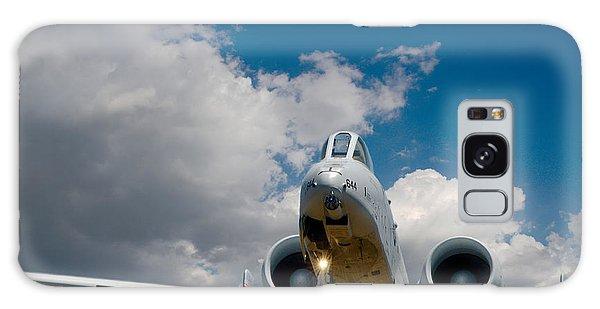 A10 Warthog Approach Landing Galaxy Case