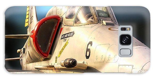 A4 Skyhawk Attack Jet Galaxy Case by Thomas Woolworth