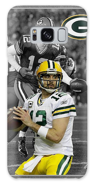 Aaron Rodgers Packers Galaxy Case