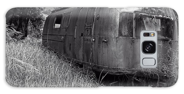 Trailer Galaxy Case - Abandoned Airstream In The Jungle by Edward Fielding