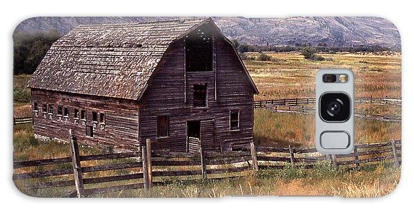 Abandoned Barn Galaxy Case