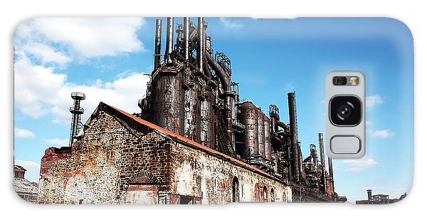 Abandoned Bethlehem Steel Galaxy Case by John Rizzuto
