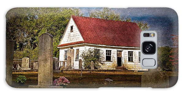 Abandoned Church And Graves Galaxy Case