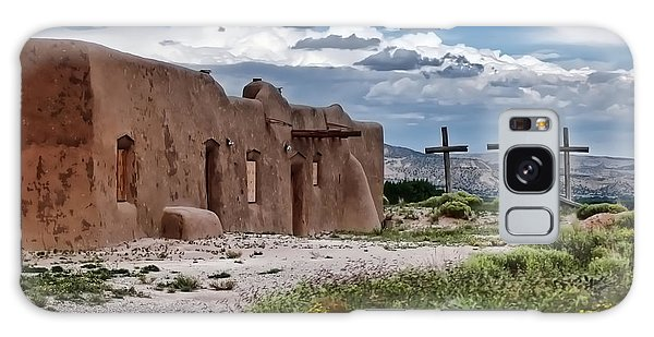 Abandoned Church In Abiquiu New Mexico Galaxy Case