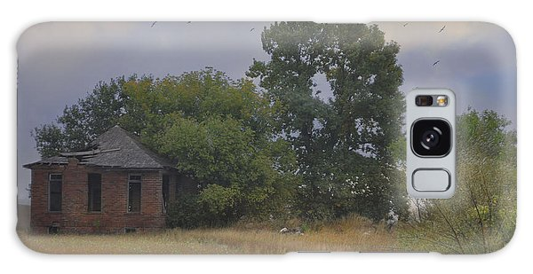 Abandoned Country House In Rural Northwest Iowa Galaxy Case