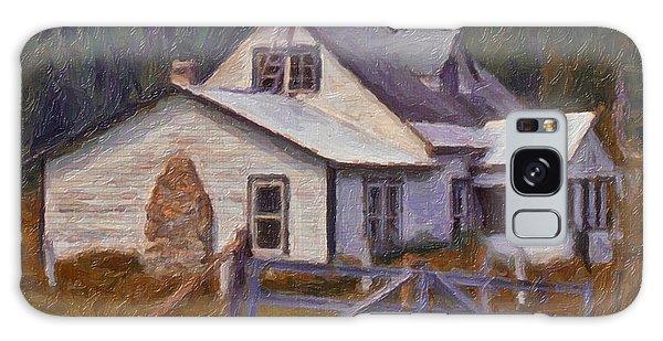 Abandoned Farm House Galaxy Case by Richard Farrington