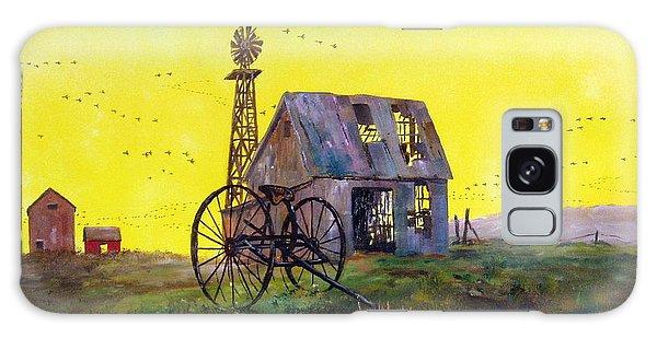 Abandoned  Farm Galaxy Case