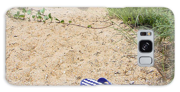 Abandoned Flip Flops Galaxy Case