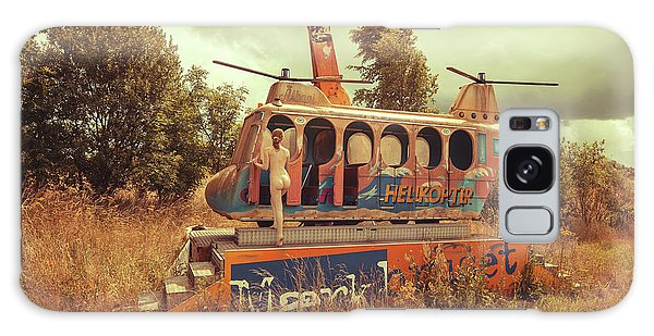 Helicopter Galaxy Case - Abandoned Helicopter by Abandon.dk