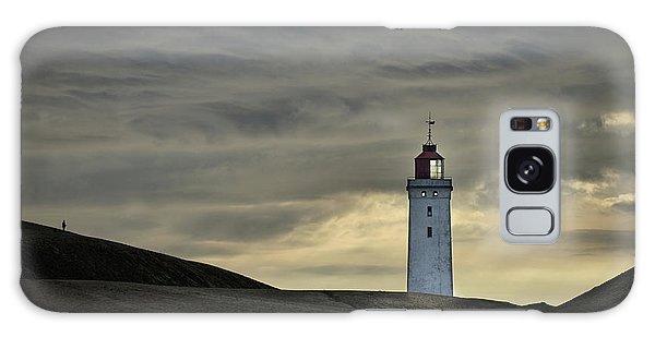 Sand Galaxy Case - Abandoned Lighthouse by Lotte Gr?nkj?r