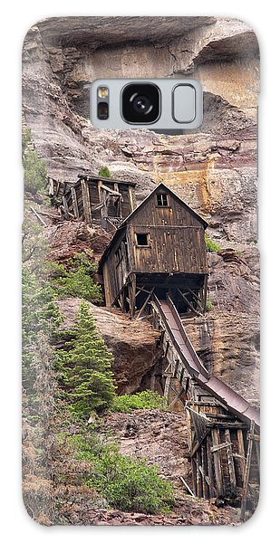 Galaxy Case featuring the photograph Abandoned Mine by Melany Sarafis