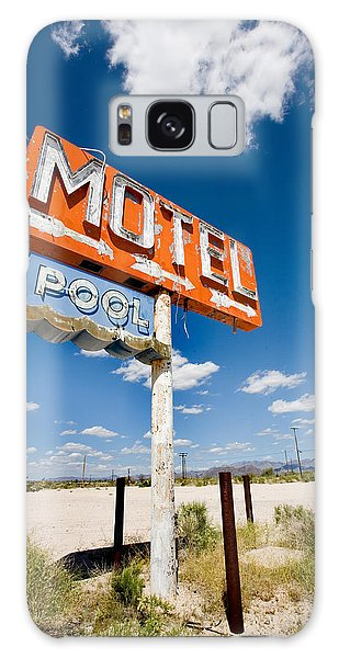 66 Galaxy Case - Abandoned Motel by Peter Tellone