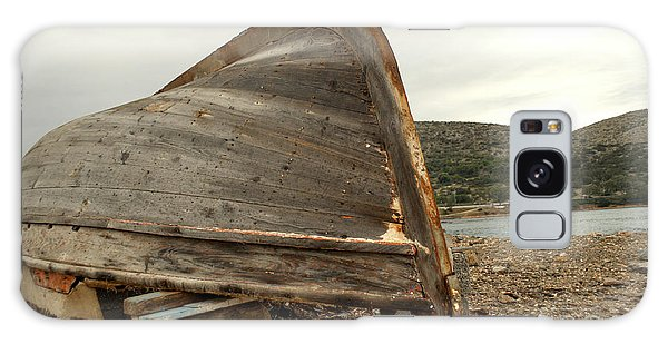 Abandoned Nafplio Fishing Boat Galaxy Case