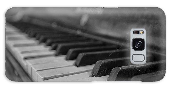 Abandoned Piano Galaxy Case