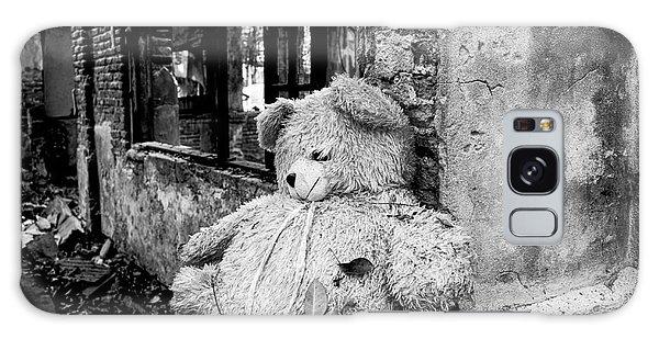 Abandoned Teddy Bear II Galaxy Case by Dean Harte