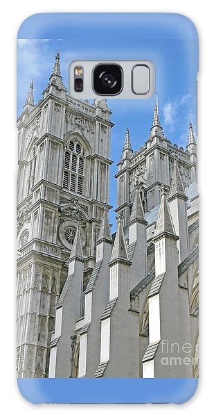 Abbey Towers Galaxy Case by Ann Horn