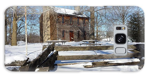 Abe Lincoln's Postville Courthouse Galaxy Case