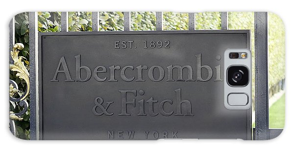 Abercrombie And Fitch Store In Paris France Galaxy Case