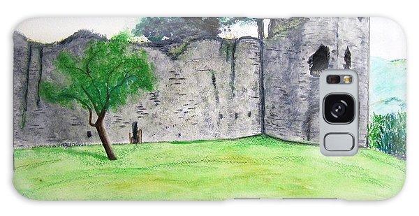 Abergavenny Castle Galaxy Case