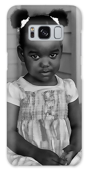 Galaxy Case featuring the photograph Abigail by Donald Brown