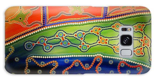 Aboriginal Inspirations 7 Galaxy Case