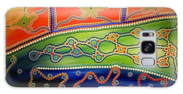 Original Sold Aboriginal Inspirations 7 Galaxy Case